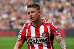Connor Wickham of Sunderland during the Barclays Premier League match...