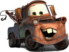 How to Draw Tow Mater from Disney Cars Movie - How to Draw Step by Step Drawing Tutorials Disney Png, Walt Disney, Disney Clipart, Disney Wiki, Disney Pixar Cars, Disney Movies, Disney Characters, Special Characters, Tow Mater