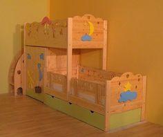 Детская кровать как элемент интерьера