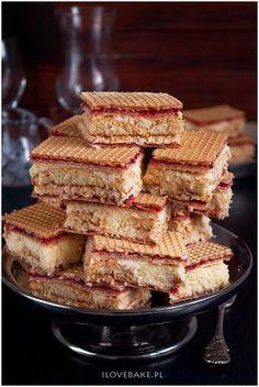 Wafle kokosowe #coconut #dessert Sweet Recipes, Cake Recipes, Condensed Milk Cake, Polish Recipes, Polish Food, Sweet Little Things, Pumpkin Cheesecake, Food Cakes, Homemade Cakes
