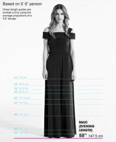 dress length guide | Dress Length Guide