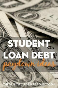 What are some ways to earn extra money and maximize the money you have to pay down student loan debt? Unique student loan debt paydown ideas. Debt, Debt Payoff,, #Debt Debt Payoff Tips, #Debt Student Loans Payoff #StudentLoans #debt