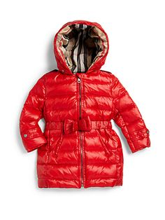 Burberry - Toddler's Hooded Puffer Parka - Saks.com