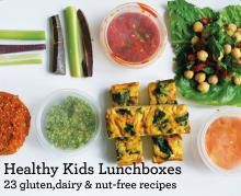 Healthy Kids Lunchboxes: 23 Gluten, Dairy and Nut-free Recipes   Are you looking for healthy lunchbox alternatives to send to school with your kids? This book has 23 recipes, hints  tips,  full colour photography!