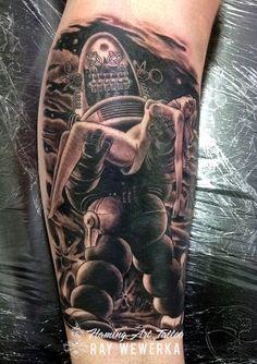 Flickr #robby #robot #tattoo #tattoos #tattood #forbiddenplanet #art