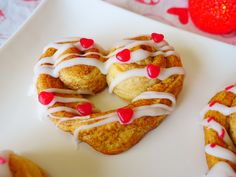 Put some heart into your Valentine's Day celebration with these super easy treat ideas! Use canned jumbo cinnamon rolls by re-rolling one side and pinching the middle, to create these super simple breakfast treats.   Heart cutouts, brushed with cream and sprinkled with sanding sugar, dress up any pie. Buying pre-made dough makes this even easier.   Use the same ... Read More