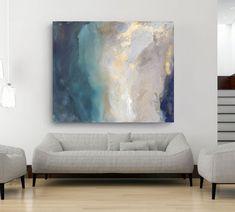 "Saint Helena (2016) Acrylic on Canvas 60"" x 72"" Hangs vertically or horizontally"