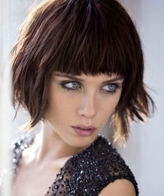 Taglio capelli con frangia estate 2015