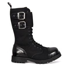 Canvas steel toe boots by Nevermind. Maybe worth the 200$ for breathable material boots!?