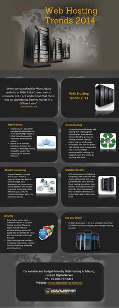 Web hosting trends 2014 #infografia #infographic #internet