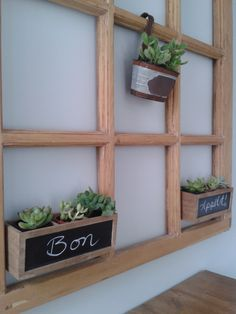 Fun little project with Dollar store wooden cubies! Dollar Stores, Diy, Cottage, Plants, Projects, Bonheur, Home, Log Projects, Blue Prints