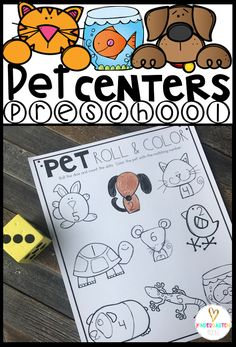 20 Pet Centers for Preschool Hands on Learning Are you looking for fun and simple thematic centers that you can prep quickly for your preschool classroom? Pet Centers were created for chi Hands On Learning Kindergarten, Creative Curriculum Preschool, Kindergarten Rocks, Preschool Centers, Preschool Lessons, Preschool Activities, Pet Theme Preschool, Preschool Printables, Learning Centers
