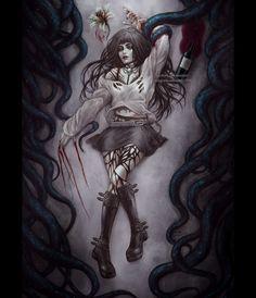 Iris Torment by NanFe on DeviantArt