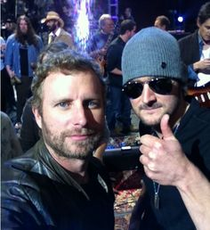 Dierks Bently Eric Church probably my two favorite people in the whole world