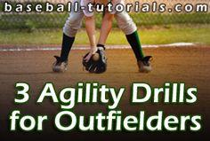 baseball fielding 3 agility drills