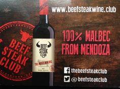Beefsteak Club Malbec = 100% Malbec from Mendoza #wine