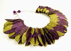 Paper Jewellery     Anna Hagopian                     Website Ana Hagopian