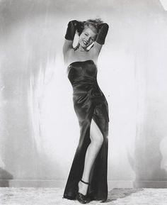 Rita Hayworth in Gilda...love her.