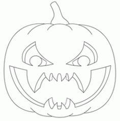 Free Pumpkin Carving Patterns. We should do this!