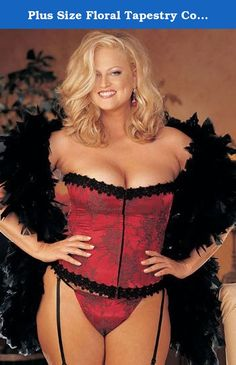 be467f121f3 Gorgeous Floral Tapestry Plus Size Corset Plus Size Corset