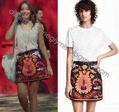 Kara Sevda - Nihan (Neslihan Atagül), H&M Skirt
