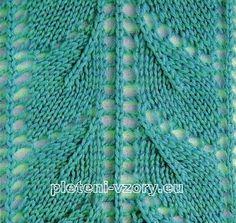 Vzor č. 2 - Kaleidoskop vzorů pro ruční pletení Výroba Krajek 653c06d78f