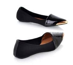Patent Leatherette Smoking Slippers