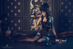 Black widow by Zatsepin-Alex.deviantart.com on @deviantART