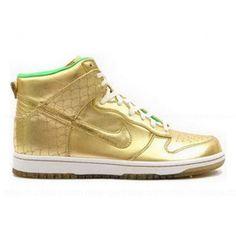 promo code d9f21 a9bfc Nike Dunk High premium Nagoya Gold Green