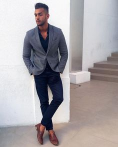 #trendy #man #city Tweed Men, Blazer Outfits, Gentleman, Suit Jacket, Menswear, Photoshoot, Mens Fashion, Men's Style, Blazers