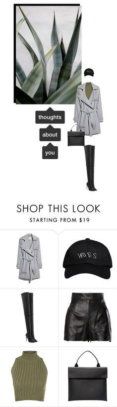 """[t h o u g h t s]"" by furhious ❤ liked on Polyvore featuring moda, MANGO, October's Very Own, Tamara Mellon, Moschino, WearAll, Marni, women's clothing, women's fashion y women"