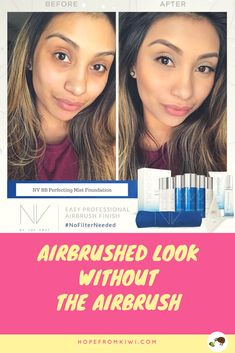Top #foundations . NIV #foundations give you professional, #airbrushed look without the #airbrush. NV BB Perfecting Mist #Foundation blurs skin imperfections & delivers photo-ready coverage fast. If you would like to purchase NV foundations, please visit hopefromkiwi.com or contact me at livingworld@fastmail.com for the best NV foundations price!