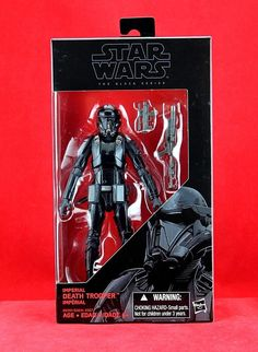 "Death Trooper Star Wars the Black Series Rogue One 6"" Inch Hasbro Action Figure #Hasbro"