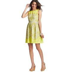 Paisley Print Flare Dress