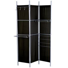 Have to have it. Black Room Divider Hang It Up Screen - 48W x 71H in. $151.99
