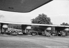 St Clair County History Cars Ping Through Blue Water Bridge Toll Booth 1938 Rus Sawyer Pic Port