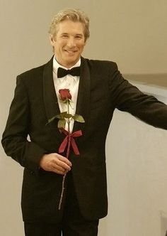 Richard Gere  Nothing Like A Man In A Suit With A Rose!