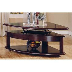 Sebring Castered Double Lift Top Cocktail Table By Progressive Furniture Tables Shelves And Shape