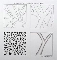 Sue's tangle trips: Fall and Hollitwig tangleation