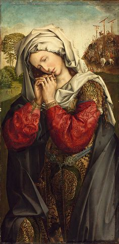 Colijn de Coter - The Mourning Mary Magdalene 1500-1504 | Flickr - Photo Sharing!