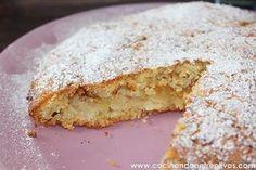 Tarta sueca de manzana. Receta paso a paso y sorteo del libro Postres caseros de Amanda Laporte