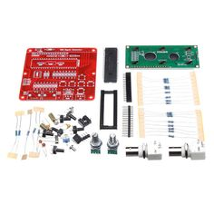 Clock Kit Temperature Light Control Version DIY 4 Digit LED Electronic. Orignal Hiland DDS Function Signal Generator Module DIY Kit Sine Square Sawtooth Triangle Wave  If you need the power, please click :  >>> 1022517 <<< , And >>> http://forum.wallmart.win/forum-topic-123630.html <<<  Description:  Delicated high speed (HS) signal output up to 8MHz DDS signal with variable amplitude and offset DDS signals: sine, square, saw, rev saw ,triangle, ECG and noise 2 x 16 LCD menu...