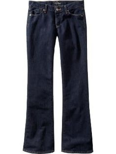 "Kinda loving Old Navy's ""Flirt"" jeans at the moment.  They make me feel skinny, and I appreciate the not-mid-rise rise."