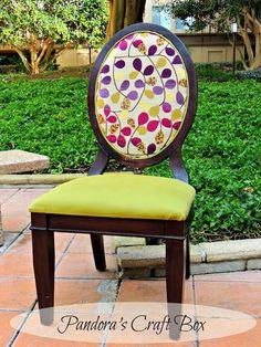 Chair makeover idea!