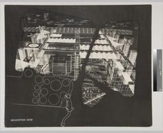 Helicopter view, Fun Palace - Cedric Price