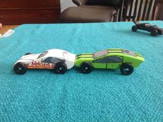 Pine wood derby cars