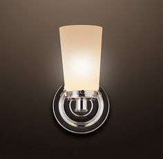Asbury Single Sconce - contemporary - bathroom lighting and vanity lighting - Restoration Hardware