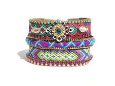OOAKjewelz Original Hippie StackPack 01  - Stack 'm together for a true statement look, mix and match them with other favorites for a fun armparty or wear them seperately for a more subtile look.