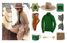 Green Tea by karenpoolak on Polyvore featuring polyvore, fashion, style, J.Crew, Paul Smith, Chanel, Emilio Pucci, Ray-Ban, Golden Goose, L'Objet, Harrods, Blue Leaves, women's clothing, women's fashion, women, female, woman, misses and juniors