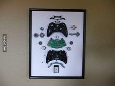 Xbox Controller Art I wish I didn't throw away my beloved Gameboy ten years ago when it broke.